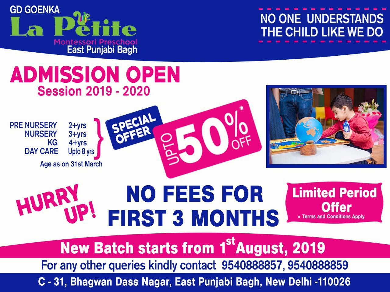 Admission Open 2019 -2020